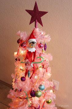 Elf on the Shelf Ideas that take 5 Minutes or Less!