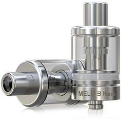 Køb Eleaf Melo 3 Nano 2ml Top-påfyldning RTA, Eleaf fra Dampden.com altid fri fragt. Top kvalitets produkter