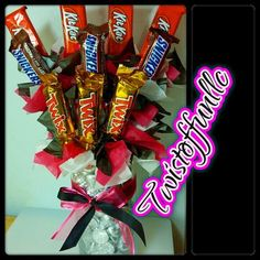 A candy bouquet is a sweet gift for any occasion and making a bouquet from candy is almost as much fun as receiving it. Use your imagination and make a colorful personalized gift that your friend wont ever forget even after he or she has eaten all the candy. If you want to know how to make a candy bouquet check out - https://www.bleupage.net/posts/YAqSF0DFnj