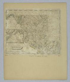 #Maryland. ([1812?]) #map