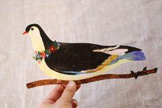 ai. Die-Cut Bird Greeting Card | UGUiSU Online Store