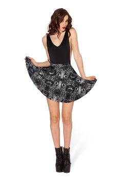 Freak Stew Skater Skirt- LIMITED by Black Milk Clothing