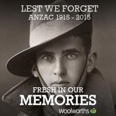 """Woolworths' tribute to the Anzac tradition backfired spectacularly on Tuesday night with its """"fresh in our memories"""" social media campaign launching a barrage of memes. Lest We Forget Anzac, Anzac Soldiers, Media Campaign, Anzac Day, History Online, Internet Memes, The Guardian, Historical Photos, The Funny"""