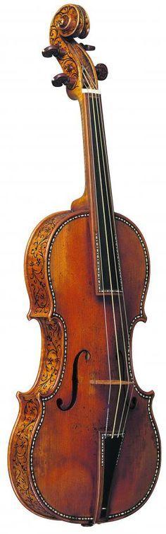 Stradivarius Violin - Only 11 ornamented Stradivari instruments survive today.