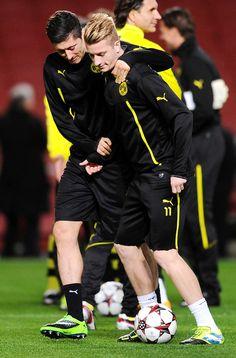 Robert Lewandowski & Marco Reus :( there last season together!