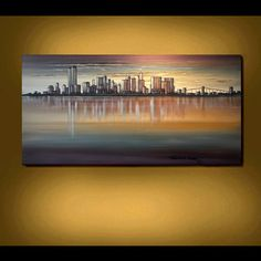 One of my favs  ...NEW YORK Pre 9 11 Twin Towers Skyline Large by americanartsgallery, $279.70