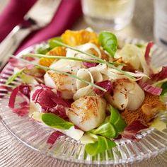Découvrez la recette de la salade terre et mer