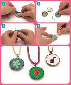 Polymer clay charms-easy