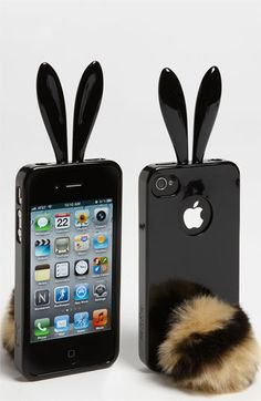 Rabito iPhone 4 & 4S Case available at Nordstrom    i can't wait to wrap you around my phone, little bunny! come to me!