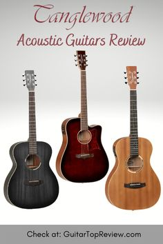 Tanglewood Guitars does not disappoint to provide quality 'value for money' acoustic guitars. Here is the best Tanglewood Acoustic Guitars Review to enable you finally find the one that best suits your needs. Guitar Songs For Beginners, Electro Acoustic Guitar, Guitar Reviews, Guitar Sheet Music, Cool Electric Guitars, Guitar Tutorial, Guitar Collection, Guitar Tips, Beautiful Guitars