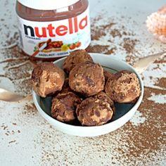 nutella truffles....num num num