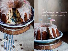 coconut & chocolate cake //