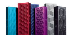 The biggest name in bluetooth speakers just got a little bit smaller with the new Jawbone Mini Jambox. This svelte speaker system measures in at just Cool Bluetooth Speakers, Portable Speakers, Small Speakers, Web Design, Design Ideas, Latest Gadgets, Speaker System, Android Apps, Smartphone