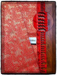 Designer Silk Saree handcrafted with tassel kuchu from Krishne Saree Tassels Saree Kuchu New Designs, Saree Tassels Designs, Blouse Designs Silk, Saree Blouse Patterns, Rekha Saree, How To Make Tassels, Wedding Silk Saree, Designer Silk Sarees, Crochet Lace Edging