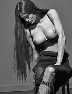 Steven Klein Envisions 'Boobs' John Currin Style For LOVE Magazine #13 Spring2015 - 3 Sensual Fashion Editorials   Art Exhibits - Women's Fashion & Lifestyle News From Anne of Carversville