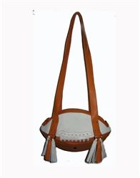 Burnt Orange & White Football Shoulder Bag.  Buy it @ ReadyGolf.com