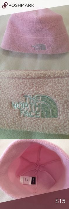 🆕The North Face Pink Denali Thermal Fleece Beanie 🆕 tags have been removed, but never worn. The North Face Pink Denali Beanie. Thermal Polartec Fleece. Laying flat measures 11 inches across bottom of headband. 100% polyester. Made in the USA. The North Face Accessories Hats