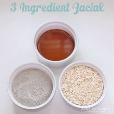 3 Ingredient Facial