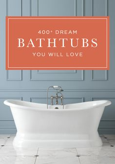 On the hunt for the perfect bathtub to give your bathroom a 'wow factor'? Look no further! This dreamy collection of magazine worthy tubs will make any bathroom sparkle with beauty.
