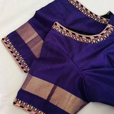 Choli Blouse Design, Cutwork Blouse Designs, Pattu Saree Blouse Designs, Hand Work Blouse Design, New Blouse Designs, Bridal Blouse Designs, Blouse Patterns, Girls Frock Design, Long Dress Design