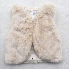 Faux Fur Baby Vest