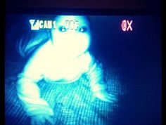 13 Times That Baby Monitors Captured Something Unnecessarily Creepy Scary Gif, Creepy, Shopkins, Terrifying Stories, Demon Eyes, Halloween Contacts, Rainbow Rocks, Baby Monitor, Weird Facts