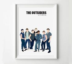 What's a good thesis statement about the maturity and growing up in The Oustiders book?