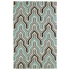 Glam Grey GLA03 Rectangular: 5 Ft. x 8 Ft. Rug