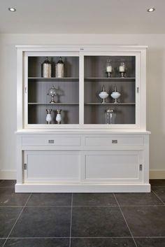 Vitrinenschrank Weiß, Geschirrschrank, Wohnzimmerschrank Im Landhausstil,  Breite 160 Cm   Vitrinen U0026 Geschirrschränke