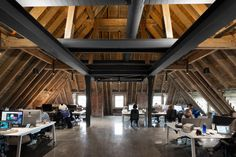 Montreal office mixes bold graphics with historical architecture... Co.Design | business + design