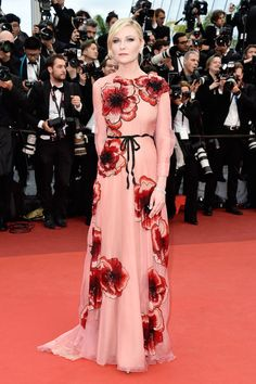 Cannes 2016 Kirsten Dunst in Gucci