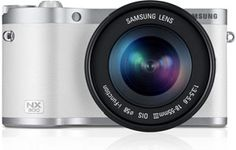 Samsung NX300 with 18-55mm OIS lens Product Shot