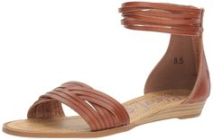 Blowfish Women's Baot Wedge Sandal ** You can find more details by visiting the image link. (This is an affiliate link) #sandals