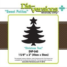 die-versions sweet petites christmas tree - Ronni Eloff