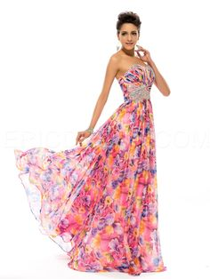 Charming Strapless Sweetheart Beading A-Line Long Evening Dress 3 Skater Dresses, Dressy Dresses, Ball Gown Dresses, Strapless Dress Formal, Evening Dresses, Saree Dress, I Dress, Beautiful Gowns, Beautiful Outfits