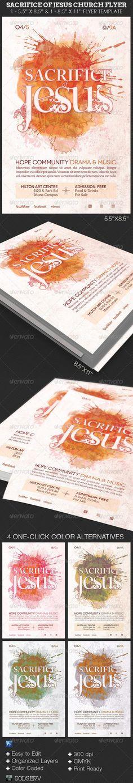 Church CD Template Bundle Vol 1 Last minute, Artworks and Church - church bulletin template