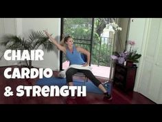 40-Minute Chair Cardio And Strength Workout - Jessica Smith TV Fitness YouTube Workout Videos