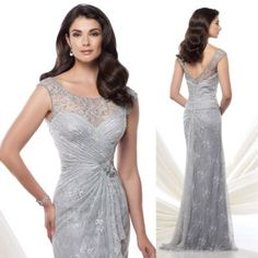 New Arrival Silver Evening Dresses