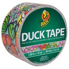 Duck Tape Brand 1.88″ X 10 Yd Printed Patterns (Wallflower)