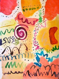 kandinsky, love the beautiful colors! Nothing like Kandinsky!