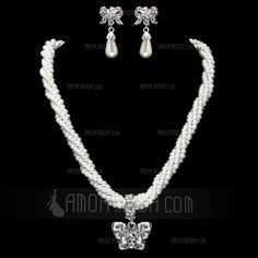 Jewelry - $34.69 - Elegant Agate With Rhinestone Ladies' Jewelry Sets (011017860) http://amormoda.com/Elegant-Agate-With-Rhinestone-Ladies-Jewelry-Sets-011017860-g17860