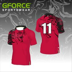 One of our Pro-Fit Rugby Shirts boasting a marble effect with the use of dye-sublimation Rugby Outfits, Sport Outfits, Rugby Shirts, Dance Shirts, Team Wear, Red Shirt, Apparel Design, Design Your Own