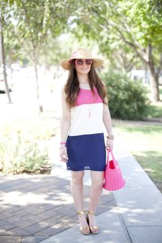 Nordstrom -Kate Spade- Sweetest Stitch Boutique-Hat-Color Block-J.Crew