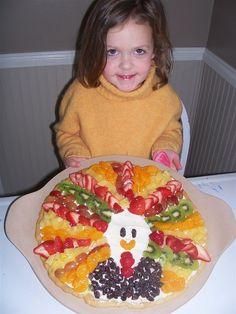 Fruit pizza turkey
