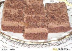 Czech Recipes, Ethnic Recipes, Czech Desserts, Polish Recipes, Tiramisu, Biscuits, Cheesecake, Food And Drink, Cooking Recipes