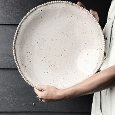 Lovely shot of our rib-knit MOIRA sweater complete with Dassie Artisan bowl in hand. Ceramic Tableware, Ceramic Bowls, Kitchenware, Stoneware, Ceramic Studio, Ceramic Clay, Pottery Plates, Ceramic Pottery, Slab Pottery