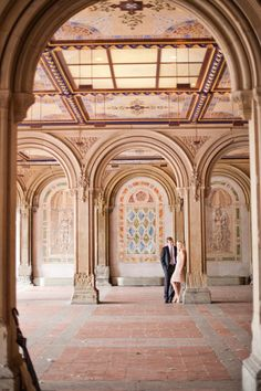 Bethesda Terrace: http://www.stylemepretty.com/new-york-weddings/new-york-city/manhattan/2015/07/08/15-picture-perfect-central-park-spots-for-engagement-sessions/