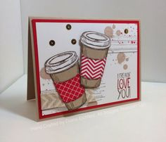 Stampin' Fun with Diana: Extra Valentine Treats, Perfect Blend, Gorgeous Grunge… Scrapbooking, Scrapbook Cards, Card Making Inspiration, Making Ideas, Valentine Day Cards, Valentine Treats, Valentines, Diana, Grunge