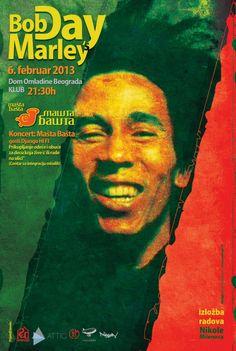 Povodom rođendana slavnog Boba Marlija (Bob Marley ) u Domu omladine Beograd, 6. februara će se održati manifestacija pod nazivom Bob Marley's Day. U daljem tekstu učestvujte u nagradnoj igri.