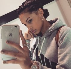Cornrow braids looks really unique and chic so why not have this gorgeous hairstyle? In our gallery you will find Best Cornrow Hairstyles images that you Marley Twists, Curly Hair Styles, Natural Hair Styles, Twisted Hair, Pelo Natural, Natural Curls, Hair Laid, Twist Braids, Braids Cornrows